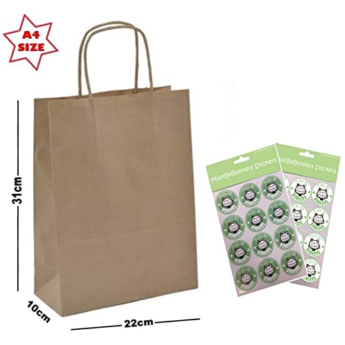 10-20X Christmas Xmas Gift Bags Candy Boxes Paper Carrier Package Pouch