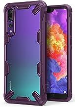 Funda Huawei P20 Pro, Ringke [FUSION-X] Ergonómico Protector TPU Back Claro PC [Protección Contra Caídas de Grado Militar] La Tecnología de Absorción de Golpes Cover para P20 Pro (2018) - Lilac Purple