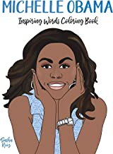 Michelle Obama Inspiring Words Coloring Book