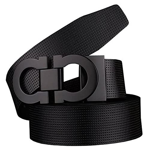36c37c32e713 Men s Smooth Leather Buckle Belt 35mm Leather up to 42inch (105-115cm for  Choose