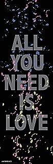 Akomplice All You Need is Love Urban Art Poster Print 12x36