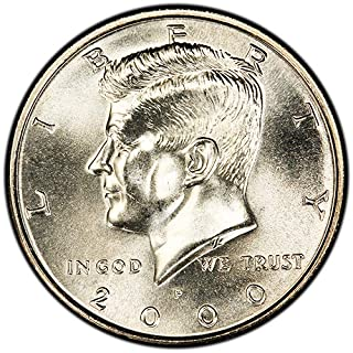 2001 P Kennedy Half Dollar ~ Uncirculated in Original Mint Cello