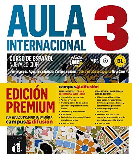 Aula Internacional Nueva Edición 3 Premium libro del alumno + CD: Aula Internacional Nueva Edición 3 Premium libro del alumno + CD (ELE NIVEAU ADULTE TVA 5,5%)