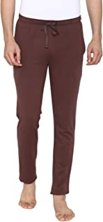 Men's Casual Plain Knitted Lower - Brown