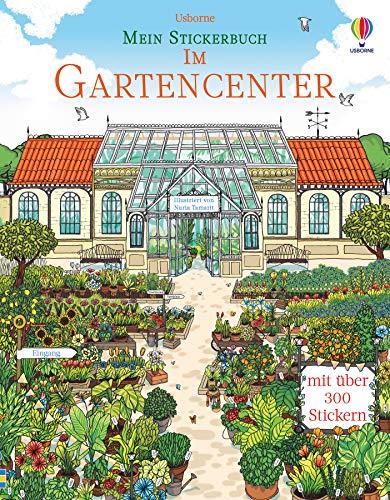 Mein Stickerbuch: Im Gartencenter