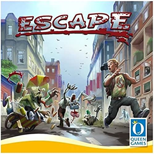 Escape from Zombie City Board Game by Queen Games