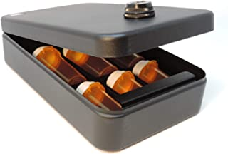 Medication Drawer Safe Plus- with Robust Steel Alloy Locking Mechanism- Prescription & Otc Pill Organizer & Lock Box