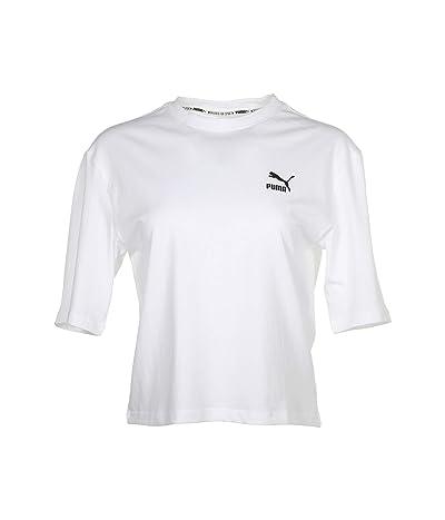 PUMA Tailored For Sport Graphic Tee (PUMA White) Women