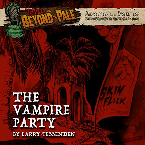 The Vampire Party audiobook cover art