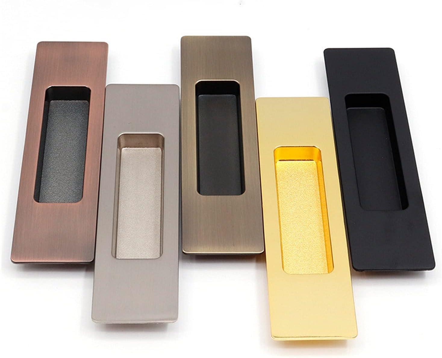 Large special price CHENGSYSTE Push Pull Handles 1set Cash special price Zinc Handle Door Alloy Hidde E