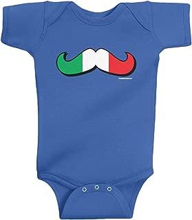 italian flag onesie
