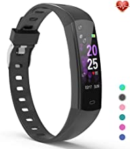 YoYoFit Slim Kids Fitness Tracker Heart Rate Monitor Watch, Kids Activity Tracker Waterproof Pedometer Watch for Kids, Kids Alarm Clock Step Calorie Sleep Tracker as Best Fitness Gift