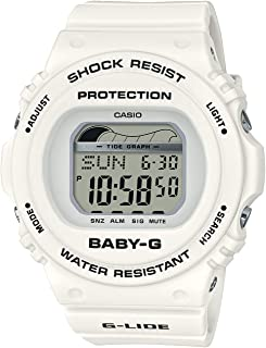 [カシオ] 腕時計 ベビージー G-LIDE BLX-570-7JF レディース ホワイト