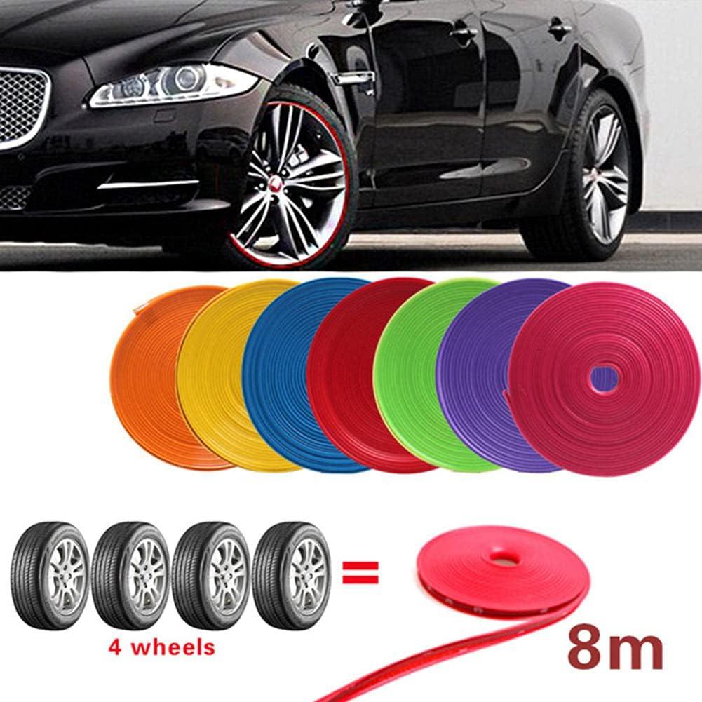 Max 43% OFF WQSNUB Car Wheel Protection Sticker Rim t Strip Boston Mall Decorative