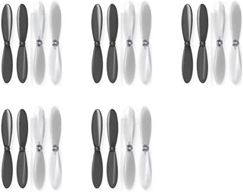 5 x Quantity of Estes Dart noir Clear Propeller Blades Props Propellers Transparent - FAST FROM Orlando, Florida USA