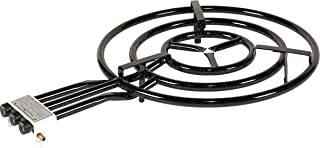 La Valenciana 20600 Paellero 60, negro, 60 cm