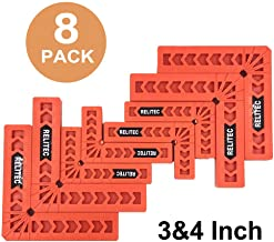 Relitec Positioning Squares, Woodworking Tool, 90 Degree Corner Clamp, Carpentry Squares,..