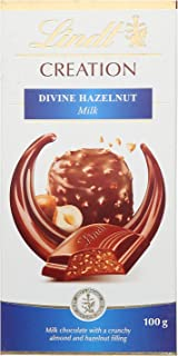 Lindt Creation Milk Chocolate With Crunchy Almond And Hazelnut Filling - 100 gm