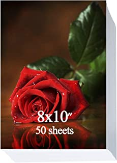 Glossy Photo Paper 8x10 inch,50 Sheets 200gsm