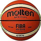 molten(モルテン) バスケットボール FIBAスペシャルエディション GR6 BGR6-YG アイボリー×クリーム 6号