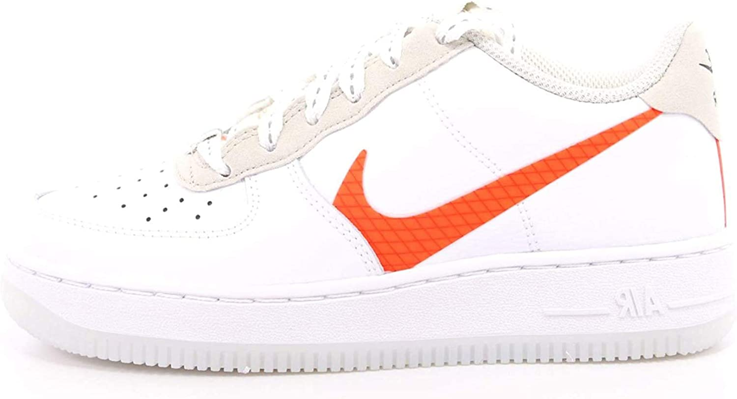 docena surf Analista  Nike Boys Air Force 1 Lv8 3 Sp20 (Gs) Basketball Shoe: Amazon.co.uk: Shoes  & Bags