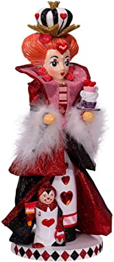Kurt S. Adler 17.5-Inch Hollywood Queen of Hearts Nutcracker, Multi