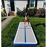 i-mesh-bean 3 ' x10 'インフレータブルエアトラックTumbling Matエアフロアマット体操トレーニングビーチ&ホーム使用USA