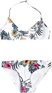 Roxy Love Waimea - Conjunto de Bikini Bralette para Chicas 8-16 Conjunto De Bikini Bralette Niñas