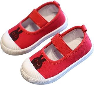 DEBAIJIA Filles Chaussures 3-10 Ans Toile de Bande Dessinée pour Enfants Casual Douce Mode De Mode Anti-Slip Mignon Respir...