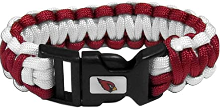 NFL Siskiyou Sports Fan Shop Arizona Cardinals Survivor Bracelet One Size Team Color