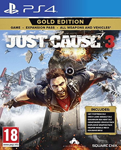 PS4 JUST CAUSE 3: GOLD EDITION (EURO)