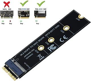 M.2 NVME SSD Convert Adapter Card for Upgrade MacBook Air (2013-2017)