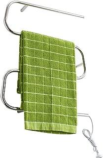 Xinjin Heated Towel Rail Bathroom Radiator Designer Flat Panel Bathroom Electric Drying Rack Intelligent Temperature Control Bathroom 304 Stainless Steel