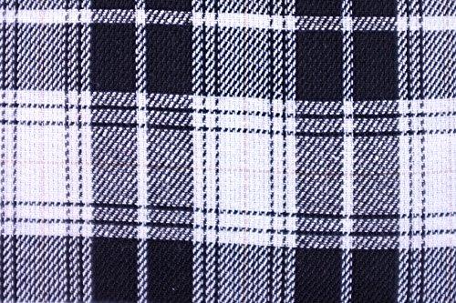 Milk Moon Vintage - Vestito - A quadri - Senza maniche - Donna Rosso Bianco & Nero