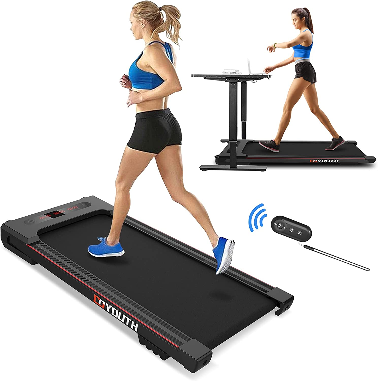 Portable Treadmill 2.25HP Under Walking Machine Desk Popular Limited price product Electric