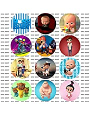 """Boss Baby 2.25"""" Pinback Buttons Set of 12"""