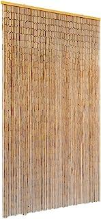 comprar comparacion vidaXL Cortina de Bambú Puerta contra Insectos 100x200cm Protección Mosquitos