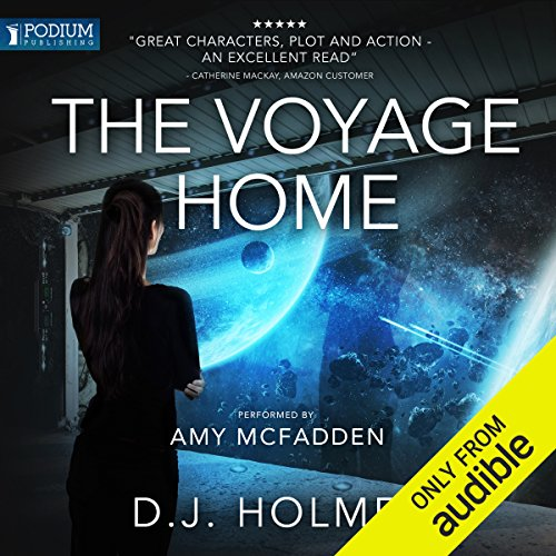 The Voyage Home audiobook cover art