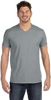 Hanes Mens Ringspun Cotton Nano-T V-Neck T-Shirt (498V)