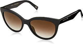 Women's Round Slight Cat Eye Sunglasses