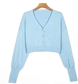 Women's Solid Color Cardigan Sweater Buttoned Bat Sleeve Sleeves Cardigan Sweater Coats