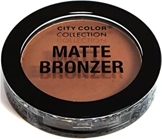 CITY COLOR - Matte Bronzer, Chestnut (Highly Pigmented)