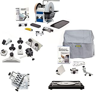 Tormek Sharpening System Ultimate Plus TBP805 T8 A Complete Water Cooled Sharpener with Woodturning Jigs, Hand Tool Jigs, Planer Blade & Drill Bit Attachments. Our Most Complete Sharpening System