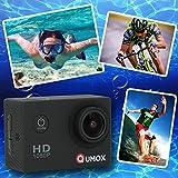 QUMOX Actioncam SJ4000, Action Sport Kamera Camera Waterproof, Full HD, 1080p - 4