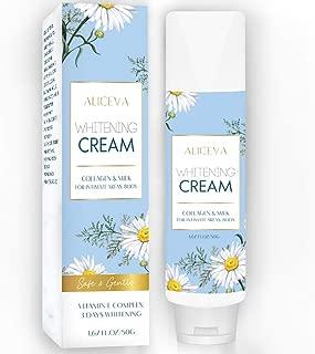 Aliceva Underarm Whitening Cream, Armpit Deodorant Cream, Body Pigmentation Relief Cream, Underarm Repair Whitening Cream, Lighten & Brighten Elbow, Bikini, Private and Sensitive Areas