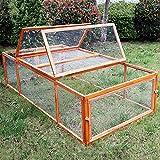WilTec Clapier Cage à Lapin XXL Lièvre Petits rongeurs Enclos Parc