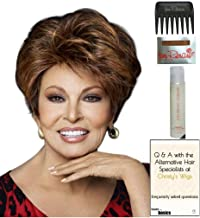 Fanfare Wig by Raquel Welch, 15 Page Christy's Wigs Q & A Booklet, 2oz Travel Size Wig Shampoo, Wig Cap & Wide Tooth Comb COLOR SELECTED: SS1222