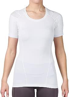 IntelliSkin Women's Foundation Newest Short Sleeve Tee | PostureCue | Smart Compression