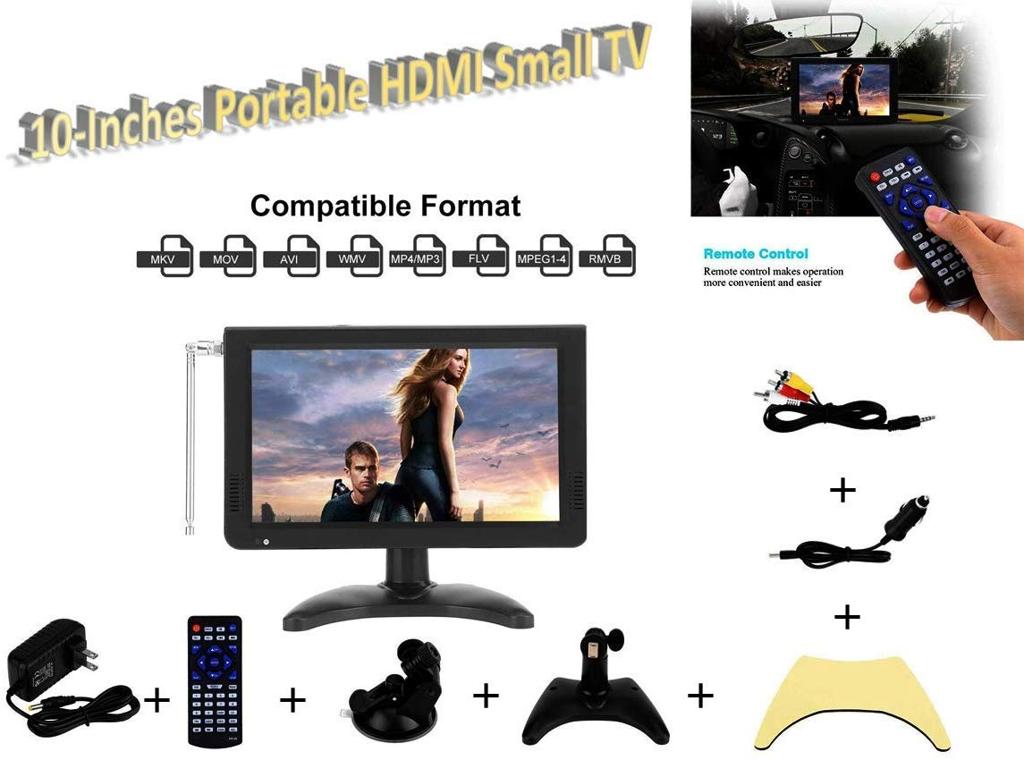 Acogedor - Televisor Digital para Coche de 7 pulgadas/10 Pulgadas ...