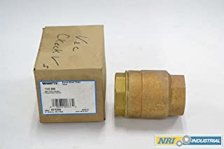 WATTS 0376356 MAXI-FLO BRONZE 600 VERTICAL LIFT 1-1/2 IN NPT CHECK VALVE B358586